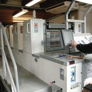 chaine de façonnage offset imprimerie publi-h